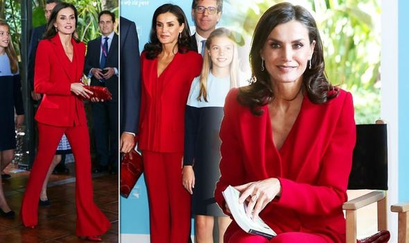 Queen Letizia takes on Kate Middleton in the style stakes after inspiring Meghan Markle