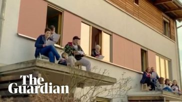 Germans sing 'Bella Ciao' from rooftops, showing support for Italians in lockdown