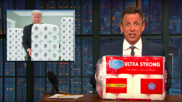 Seth Meyers scorns Trump's plan to leave people on a coronavirus-infected cruise ship