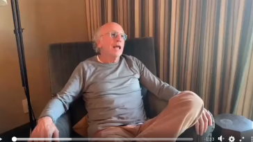 Larry David's annoyed social distancing PSA is the most Larry David thing ever