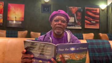 'Stay the f**k at home': Samuel L. Jackson reads you his poetic social distancing PSA