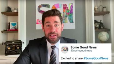 John Krasinski's Some Good News Twitter account will brighten your timeline